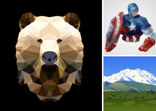 Полигональный арт всё чаще можно встретить на просторах интернета.  Полигональный арт - это иллюстрации, состоящие из множества многоугольников, в частности треугольников. За счёт сочетания светлых и тёмным тонов, используемый в качестве фона, иллюстрация придаёт ощущение глубины и объёма.