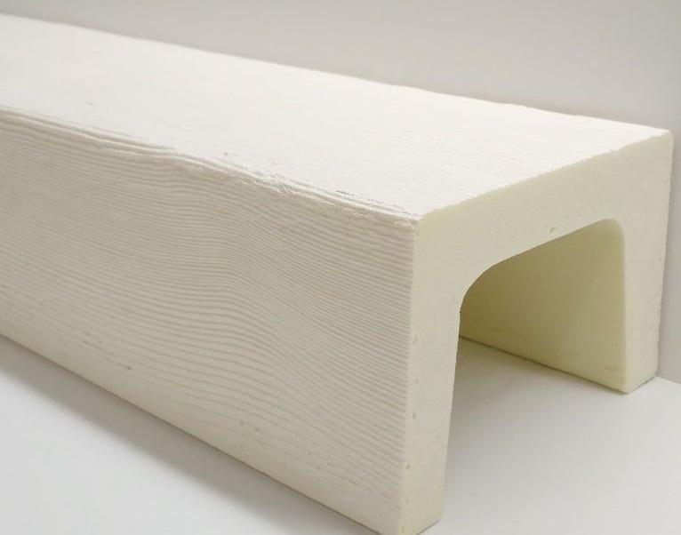 Фальш-балки из пенополиуретана белоснежного белого цвета от производителя по низкой цене