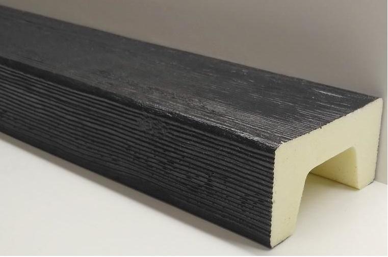 Черные фальшбалки для потолков под дерево от производителя купить не дорого