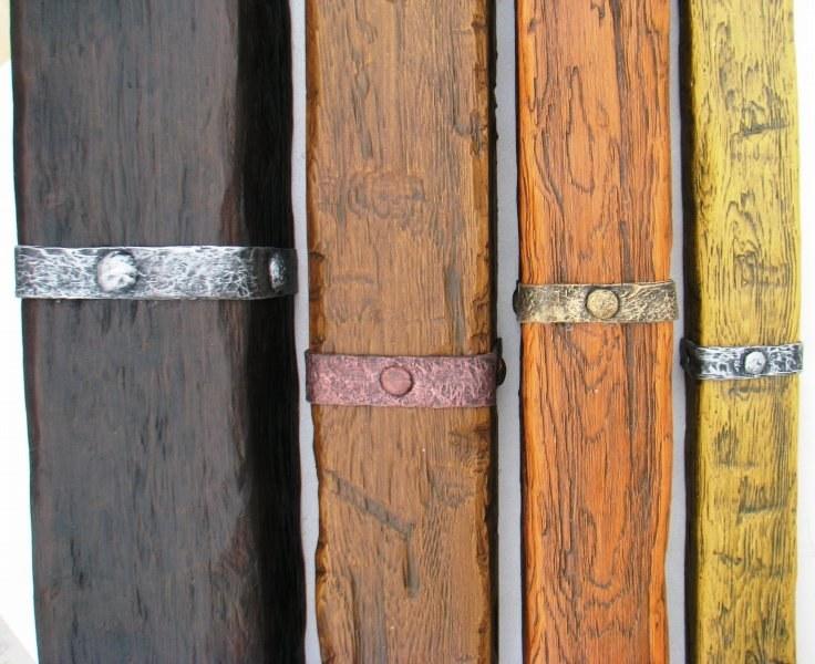 Выбирайте ремень для фальш балки из полиуретана:  пропорциональной ширины и толщины