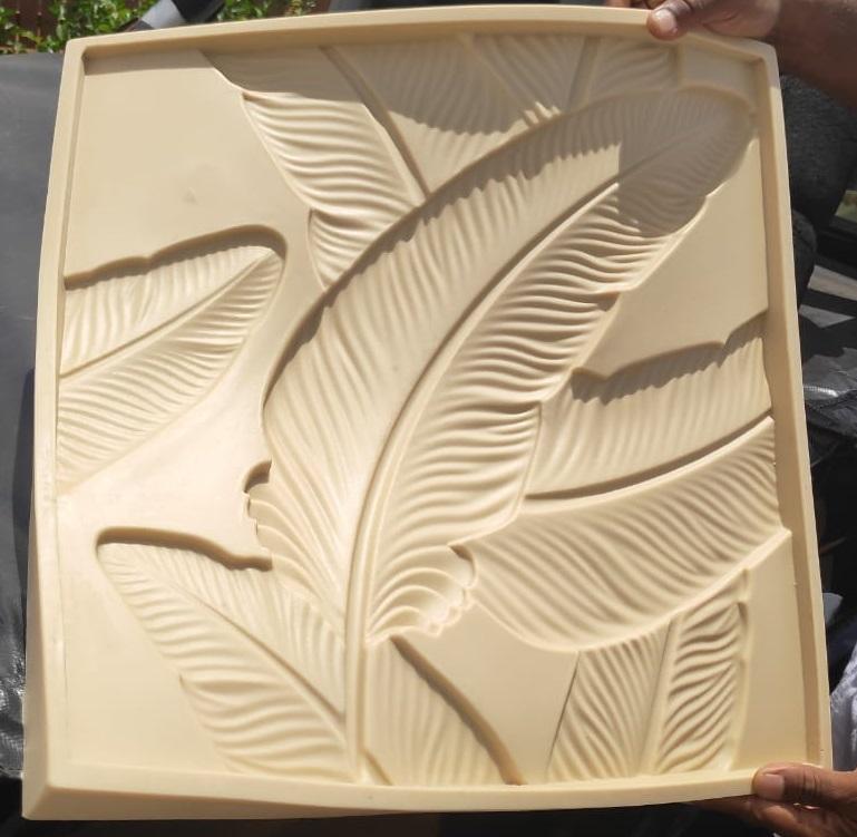 """Полиуретановая Форма для изготовления 3D панелей """"BLADE"""" от изготовителя форм"""