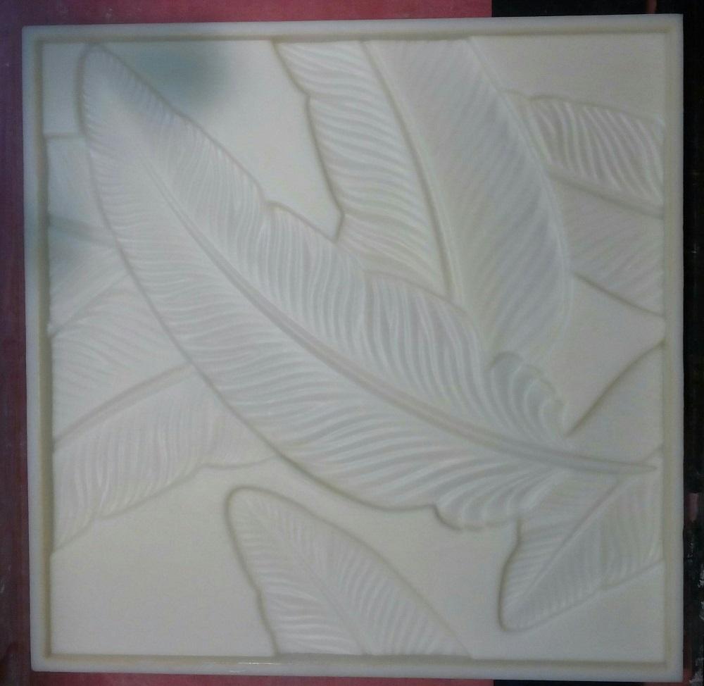 """Форма из полиуретана для 3D панелей """"BLADE"""""""