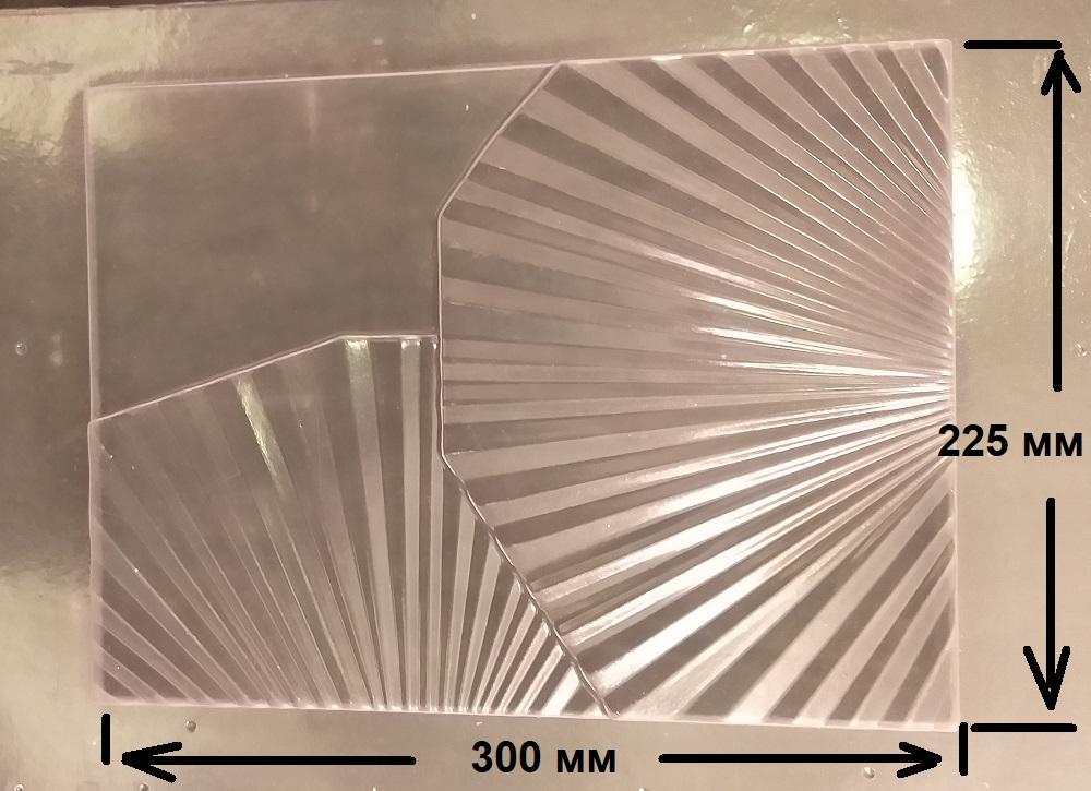 """Форма из пластика для 3D панелей """"FLORA"""""""