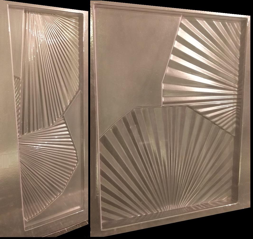 """Фотографии форм для самостоятельного изготовления 3D панелей """"FLORA"""""""