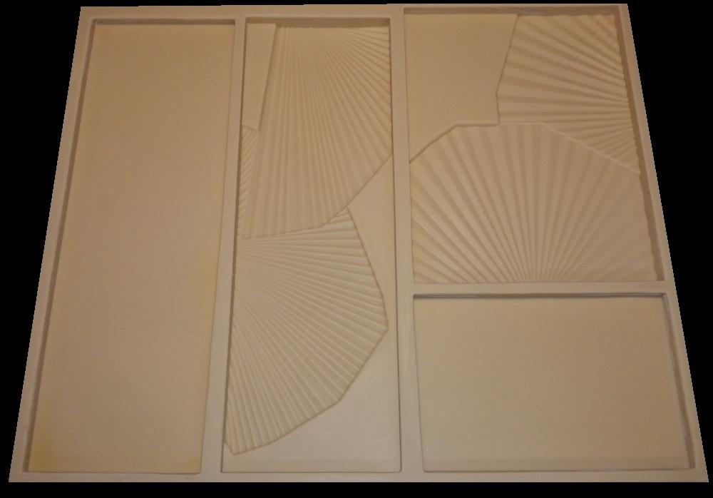 """Форма для 3D панелей """"FLORA"""""""