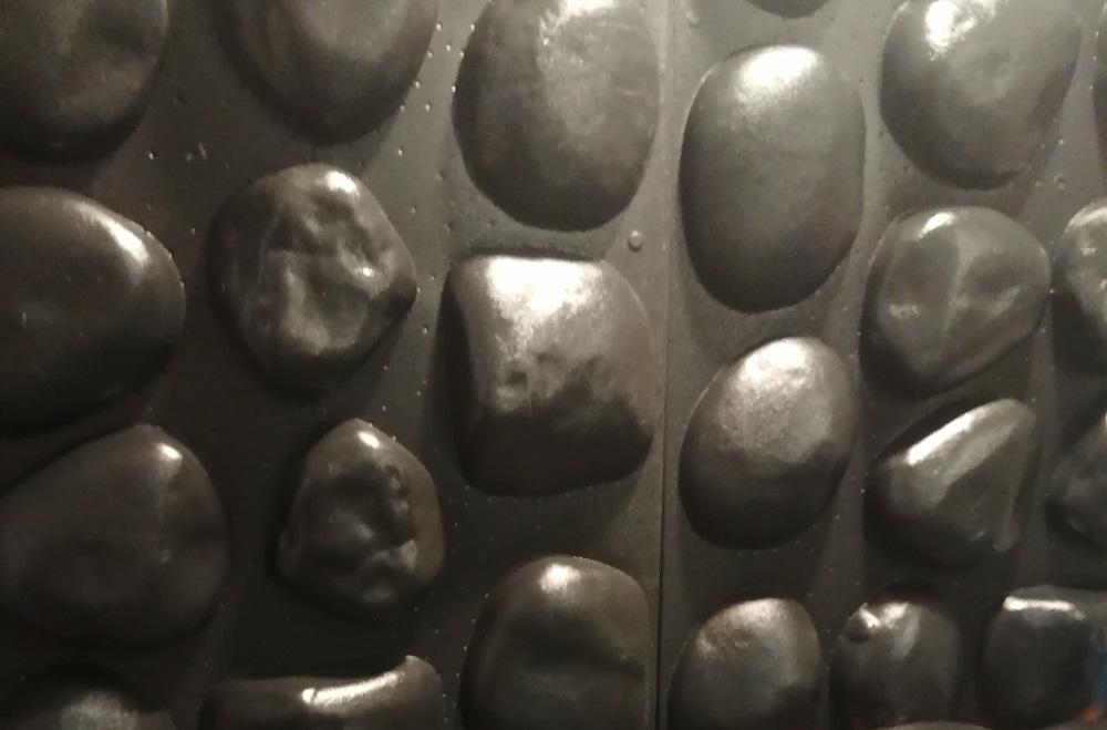 "Форма из пластика для камня ""Галька речная"", Пластиковая Форма для камня ""Галька речная"", Форма для изготовления камня ""Галька речная"""
