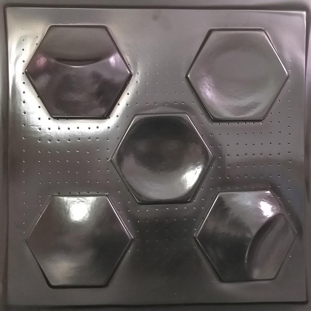 """комплект пластиковых и полиуретановых форм для самостоятельного изготовления гипсовых 3D панелей серии""""OCEAN"""""""