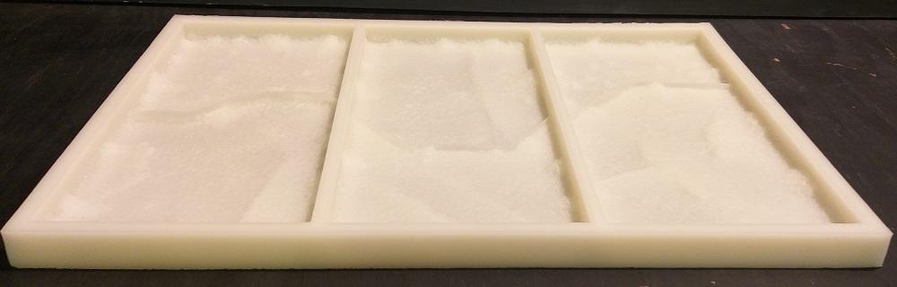 """Наша компания предлагает Вам форму для изготовления плитки """"под дикий камень"""" из гипса повышенной прочности и бетона, для оформления интерьера и экстерьера Вашего дома, по виду и текстуре повторяющиесо 100% точностью оригинальный песчаник со склонов горы Аусангате."""
