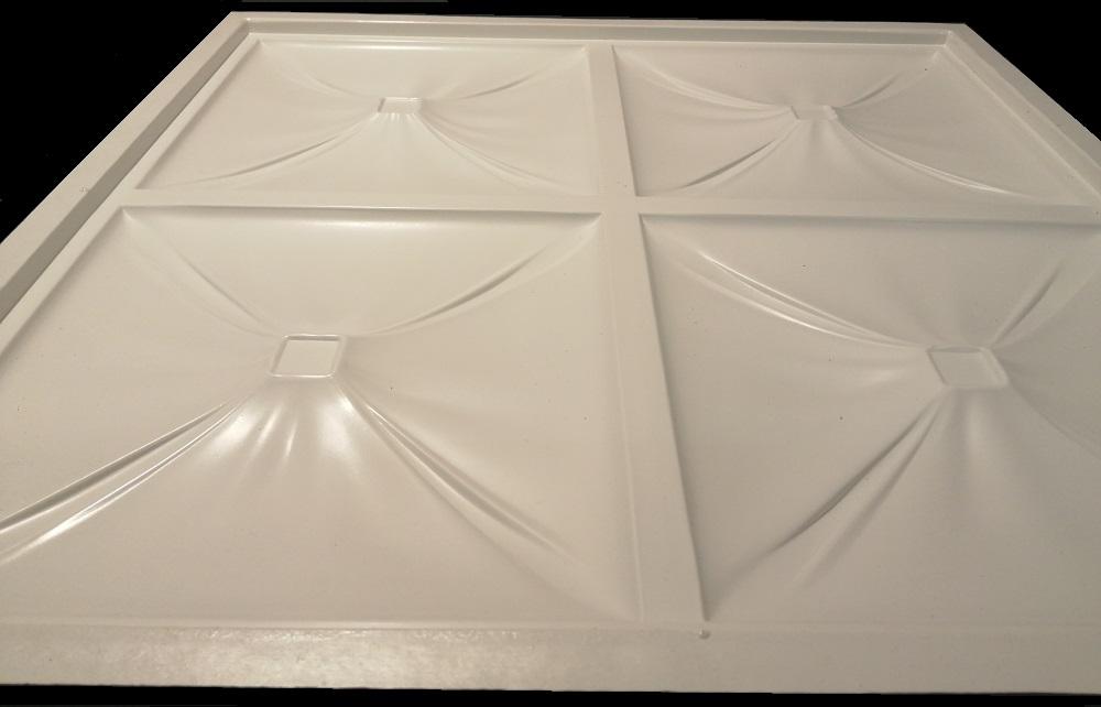 """Представляем Вашему вниманию форму для изготовления 3D панелей из гипса""""PILLOW-6""""."""