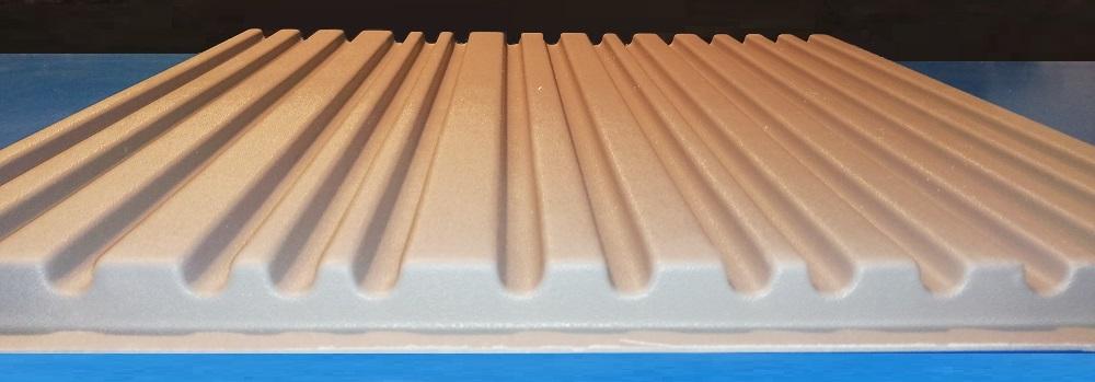 """Характеристики формы для изготовения 3D панелей """"Рейка-ТИКС"""""""