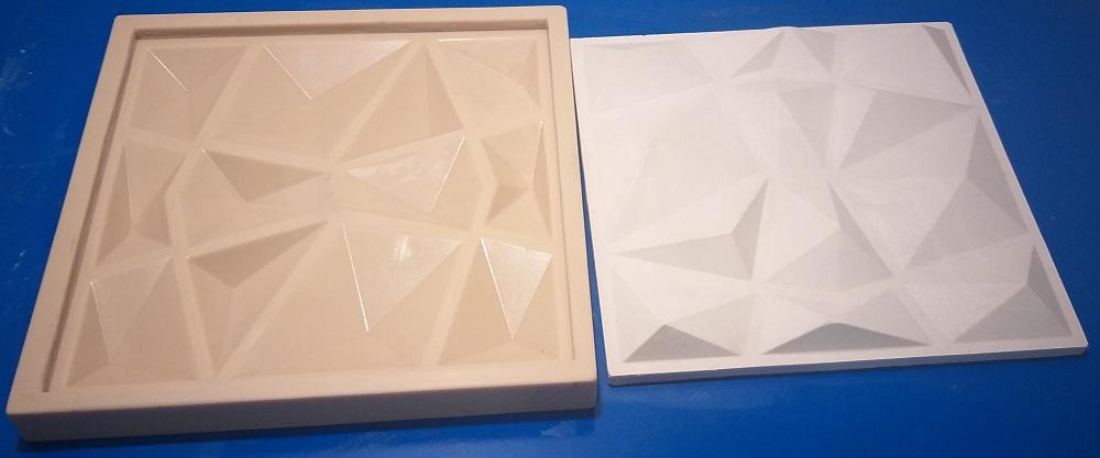 """Форма для 3D панелей """"Скалы"""" mini"""