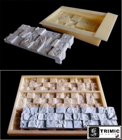 натуральная каменная 3D-мозаика