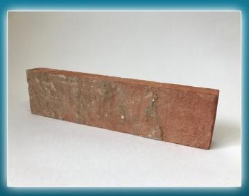 """Плитка из старинного кирпича.  Элемент """"Ложок"""" 1-го класса"""