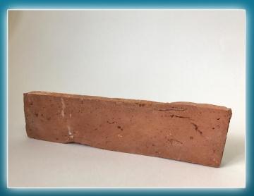 """Плитка из старинного кирпича.  Элемент """"Ложок"""" 2-го класса"""
