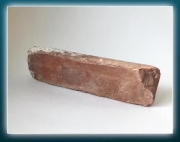 """Плитка из старинного кирпича.Элемент """"Ложок"""" класс """"Люкс"""" (очищенный)"""