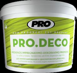 Импрегнант для дерева PRO.DECO