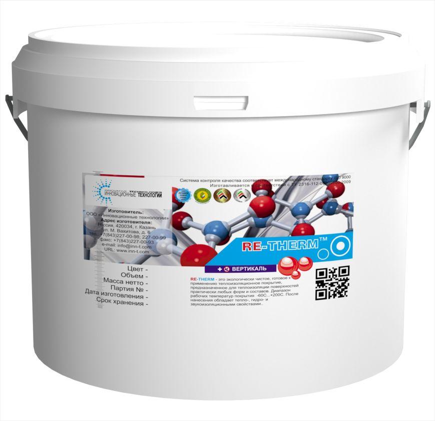 RE-THERM Вертикаль-Обладает повышенной вязкостью. Для утепления стеновых и кровельных конструкций.