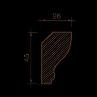 Карниз с рисунком ДК-15