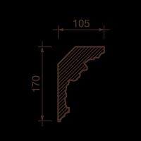 Карниз с рисунком ДК-20А