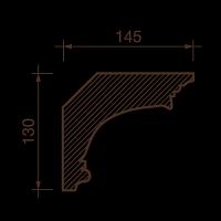 Карниз с рисунком ДК-61