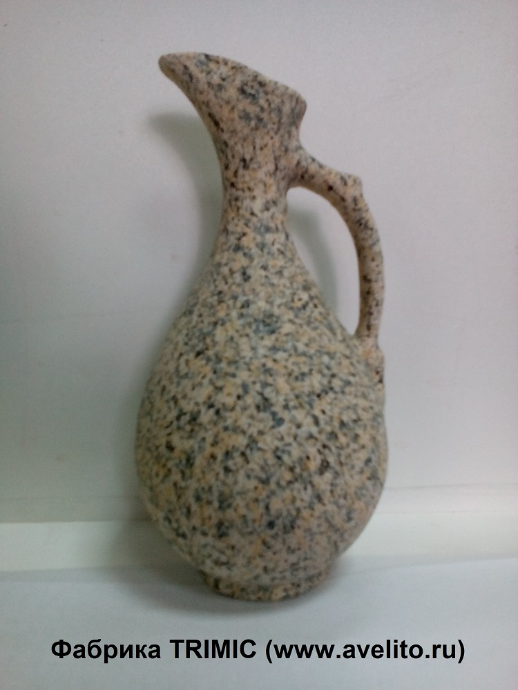 Изготовленные из экологически чистой глины и покрытые натуральной мраморной крошкой, наши вазочки подойдут к любому интерьеру Вашего помещения и украсят Ваш дом.