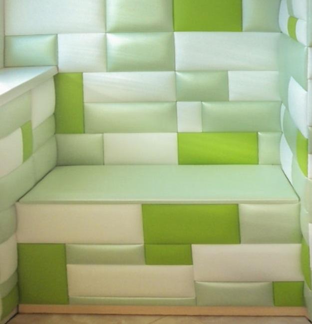 Прямоугольные мягкие стеновые панели: