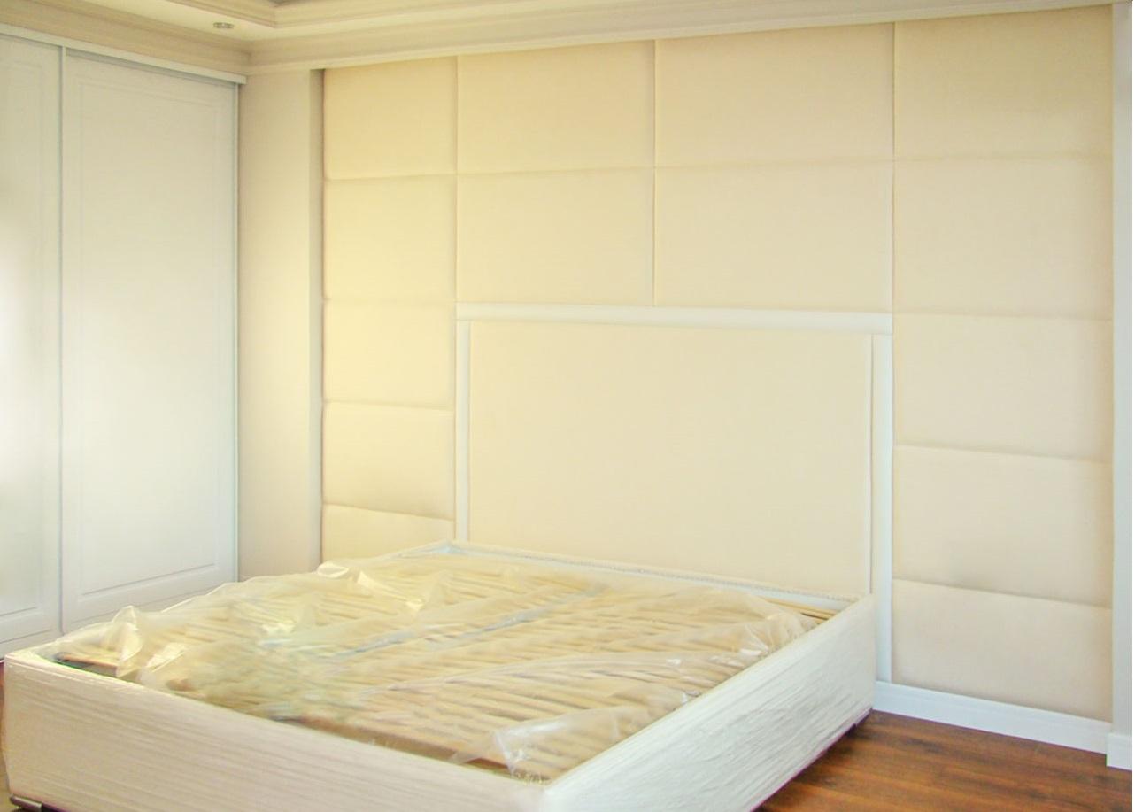 Прямоугольные мягкие стеновые панели