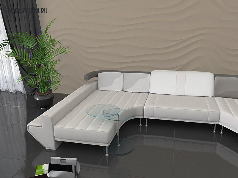 """Готовое решение для интерьерной отделки стен - это гипсовое панно """"Барханы"""", купить в Москве, от производителя, по низкой цене с монтажом. Подробнее на сайте - www.avelito.ru"""