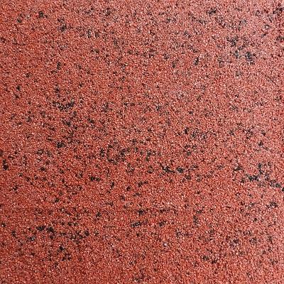 Гибкая плитка (камень) RAMOflex из мраморной крошки - цвет Кирпично-красный