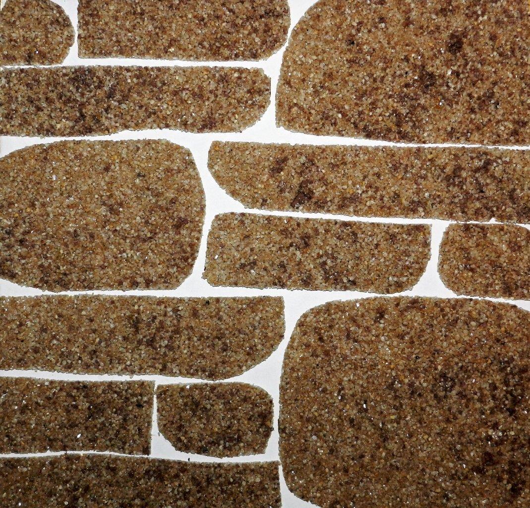 """Примеры орнамента """"под дикий камень"""" при использовании плитки RAMOFlex:"""